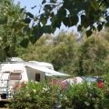 Caravan at the Beauséjour campground next to the Mediterranean (...)