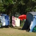 Tents at the Beauséjour campground